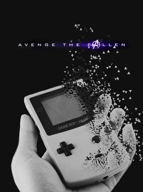 Avenge the fallen poster photo made with PicsArt
