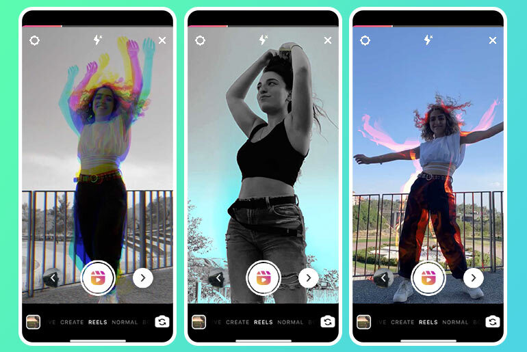 Instagram Reels dancing effects