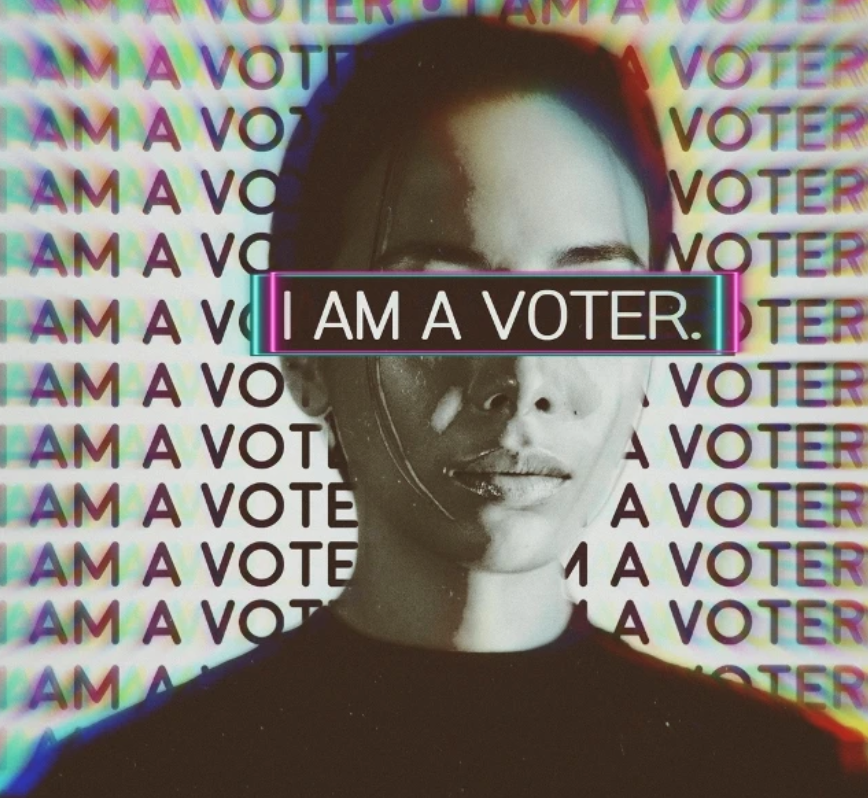 I Am a Voter Stickers Edit