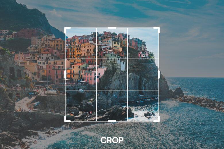 Crop Photo Editing Tools