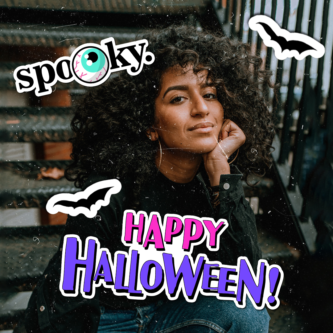 Halloween clipart edits with sayings and quotes