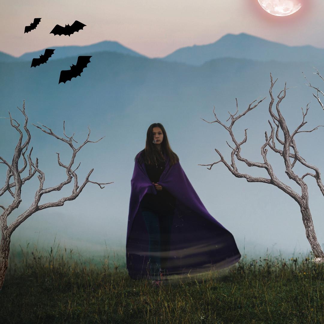 Halloween clipart edits