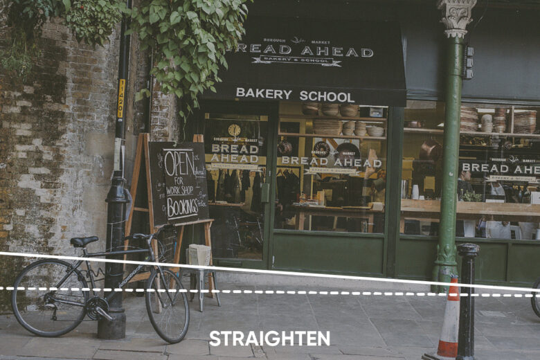 Straighten Photo Editing Tools