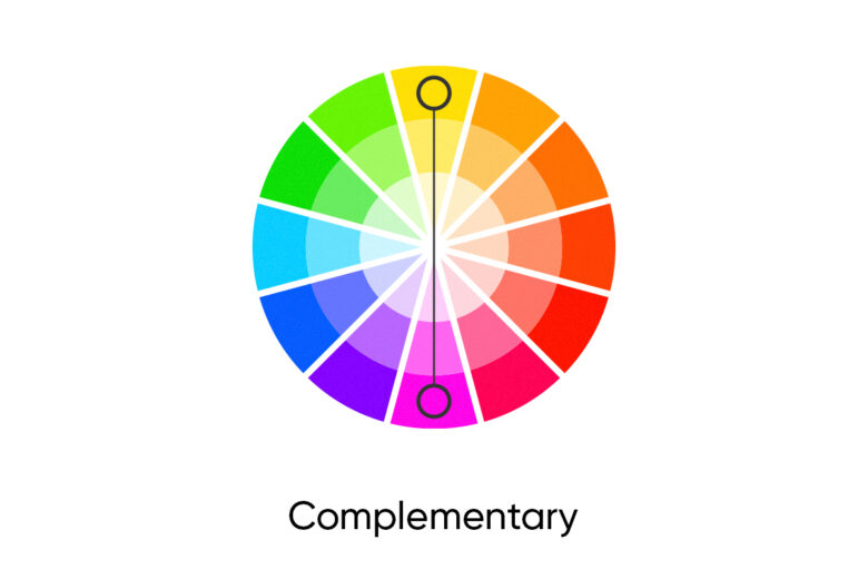 complementary fall color palette