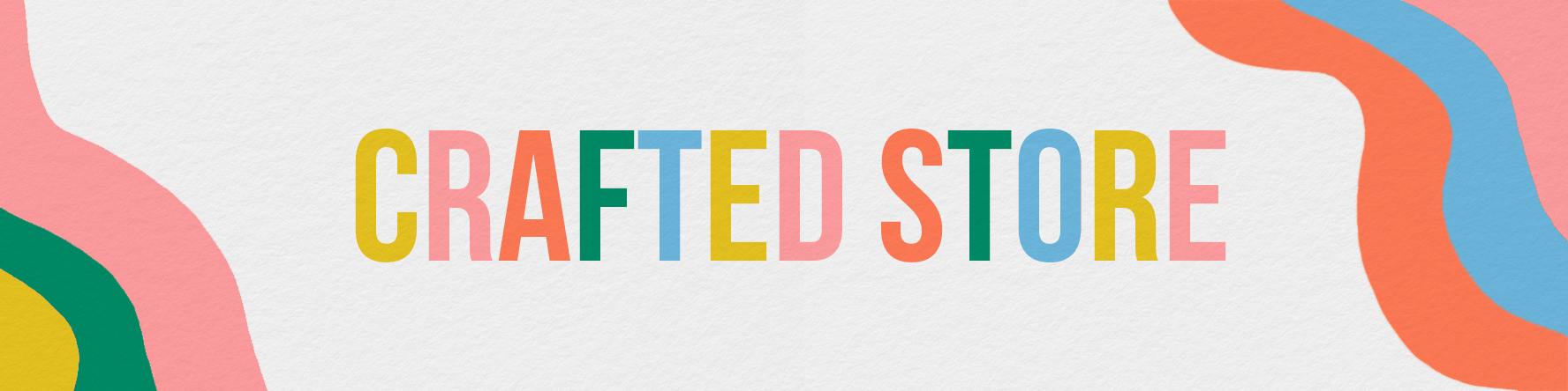 Etsy banner for crafted store