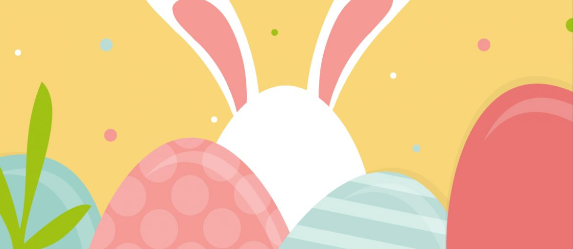 Easter pastel bunny