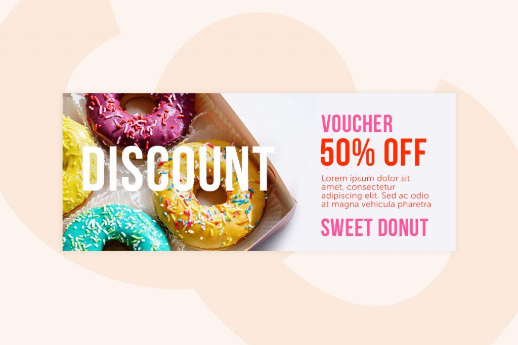 Donut shop gift card
