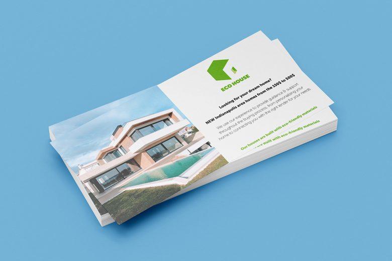 Real Estate Eco Logo