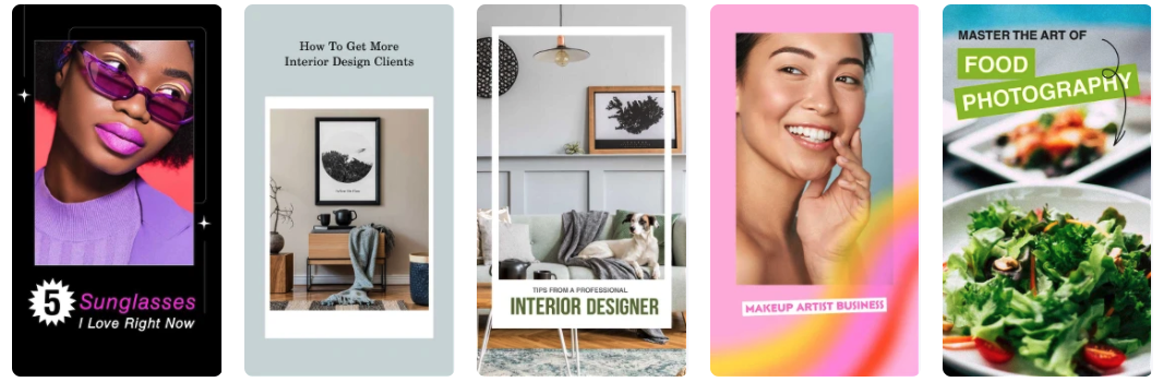 Pinterest Idea Pins Templates