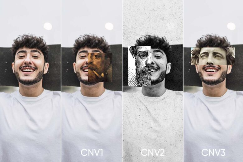 Canvas Effect Photo Editing Tools