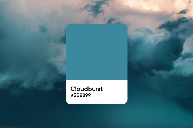 Cloudburst color code
