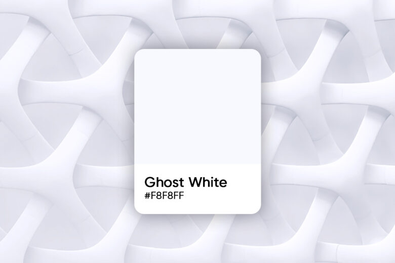 ghost white color