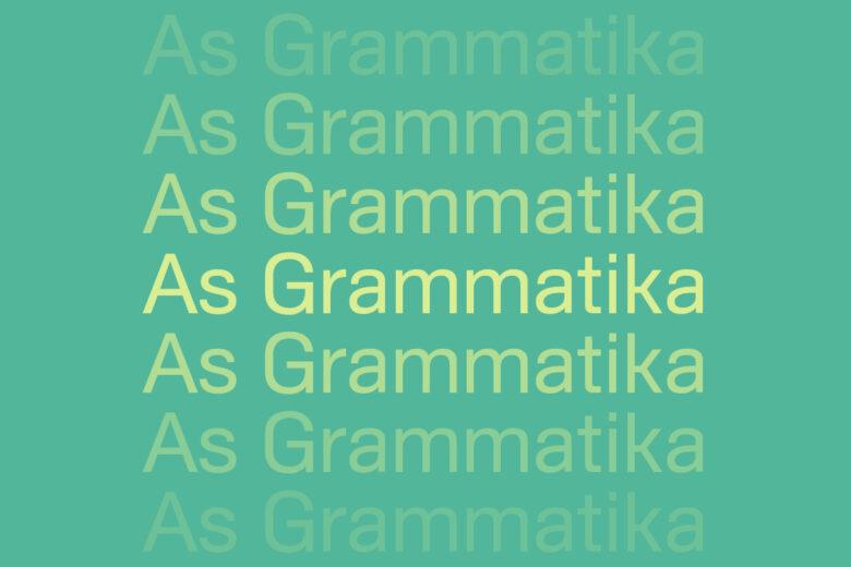 As Grammatika Helvetica alternative