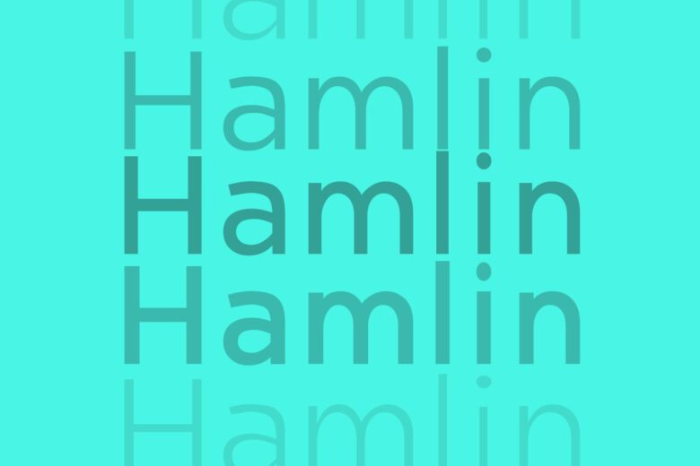 Hamlin font Helvetica alternative
