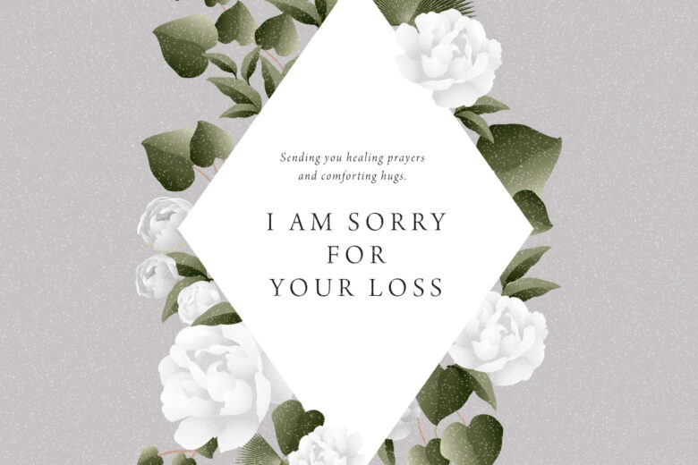 Sorry for your loss sympathy messages