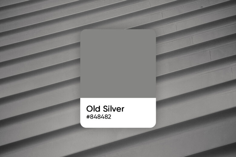 old silver color