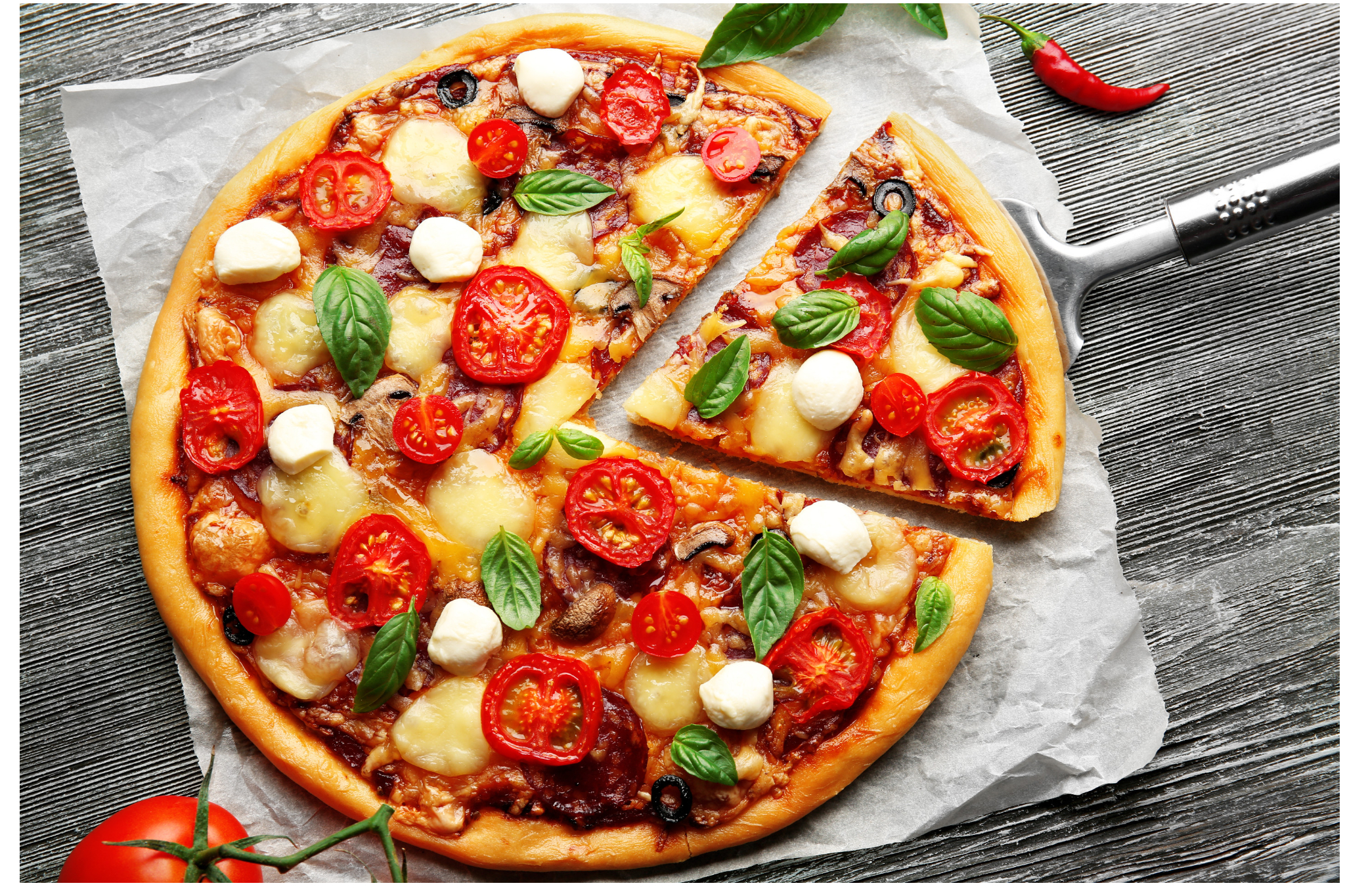 stock photo of a pizza available in picsart