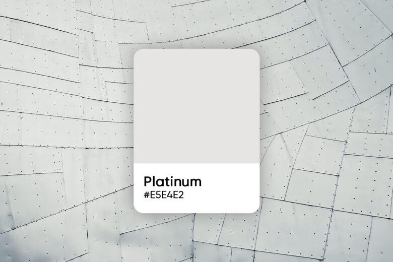platinum color