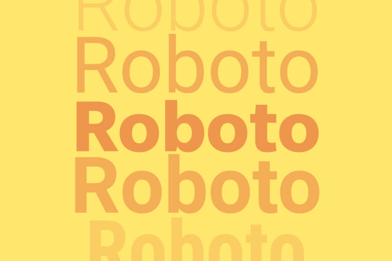 Roboto font Helvetica alternative