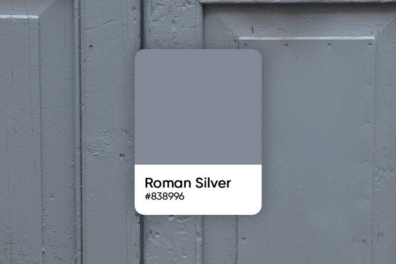 roman silver color