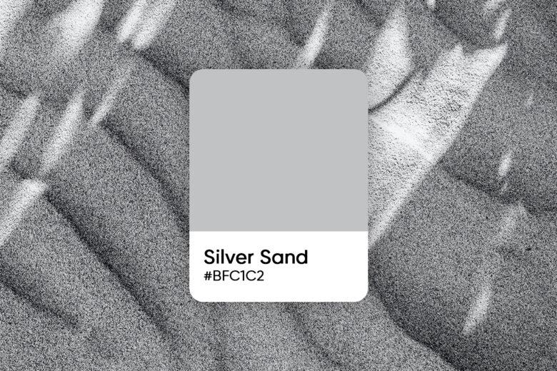 silver sand color