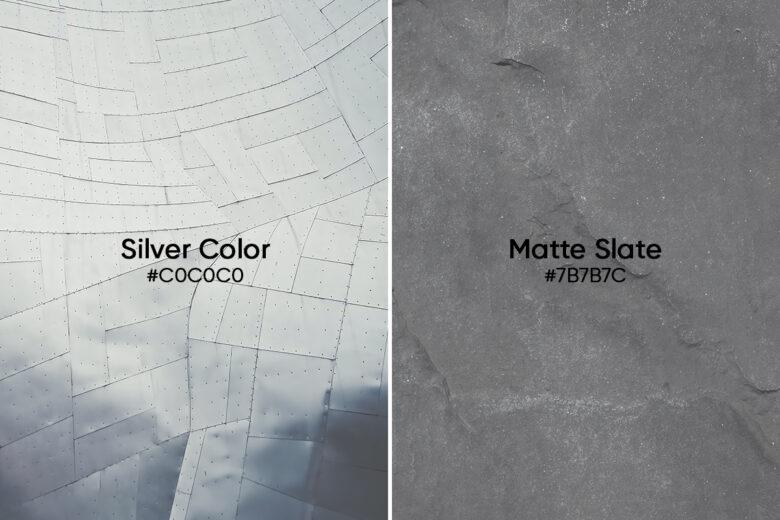 silver vs matte slate