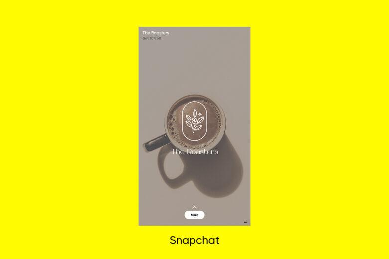 Snapchat social media advertising